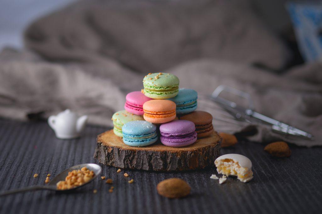Receta macarons francés