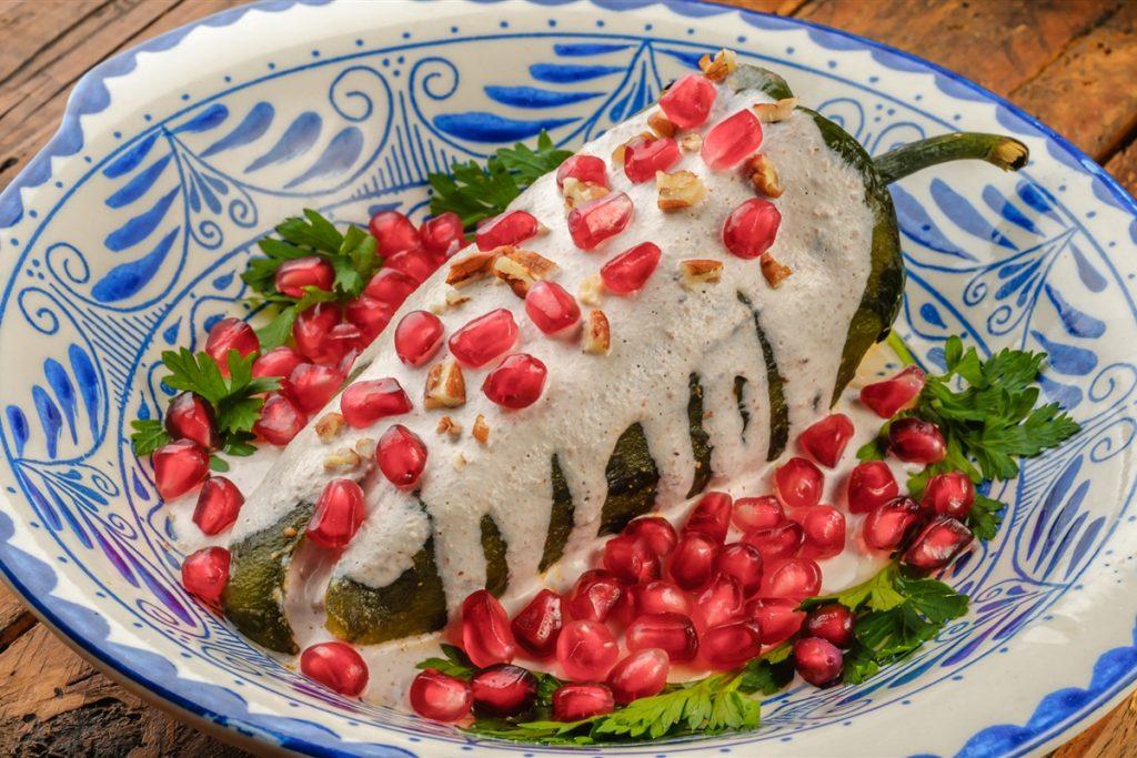 chile en nogada sin capear