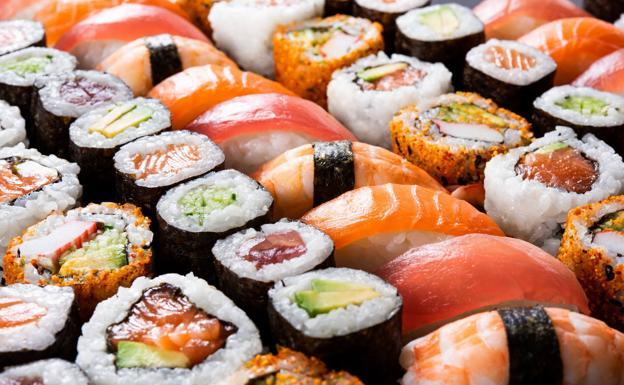 Conoce las diferencias entre el sushi y el sashimi